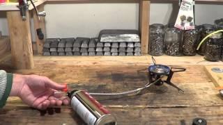 Kovea lindal to butane gas adapter