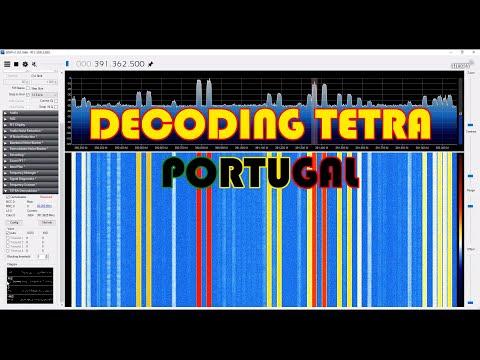 Decoding TETRA Portugal - Windows 10