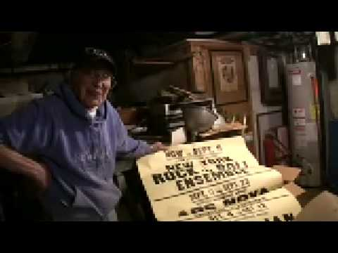 RIP Paul Colby owner of THE BITTER END finds 40 yr old posters in basement!