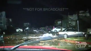 12 26 15 rowlett texas wedge tornado apartments damaged near i30