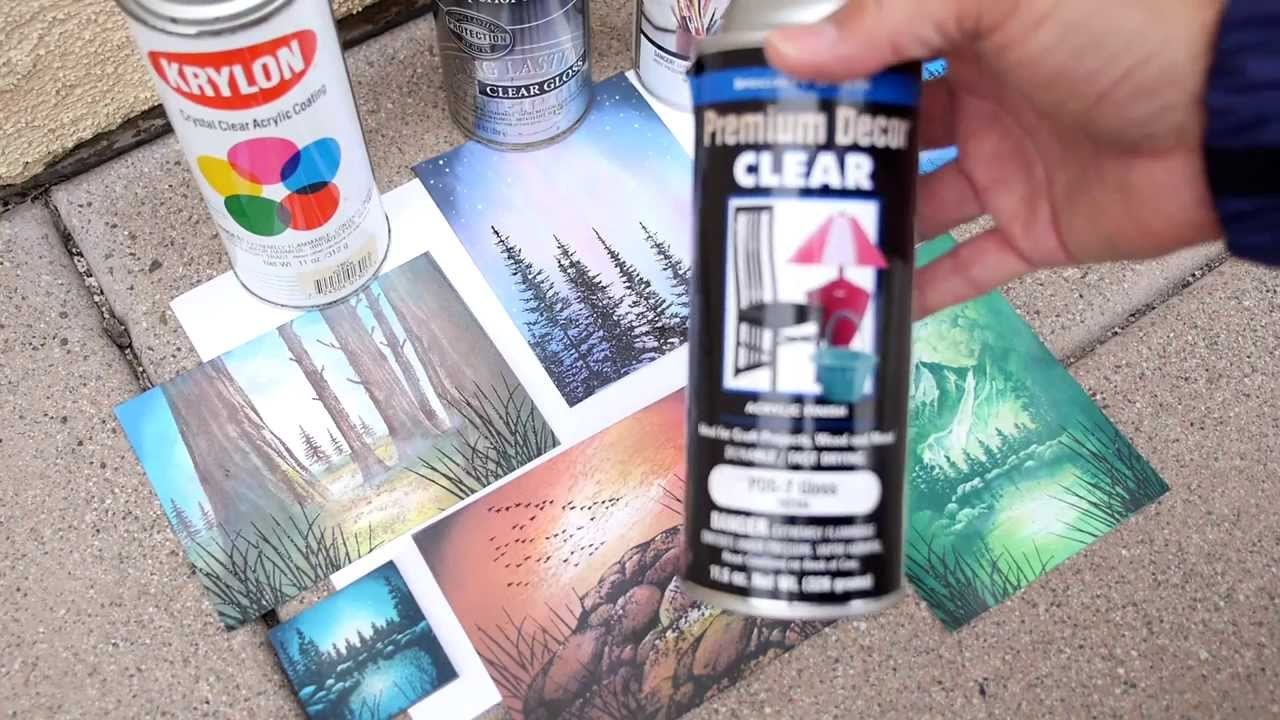 Stampscapes 101: Video 70  Acrylic Sprays (finishing your cards)