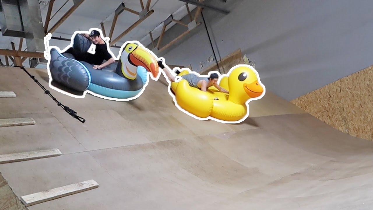 giant-inflatables-vs-mega-ramp-race