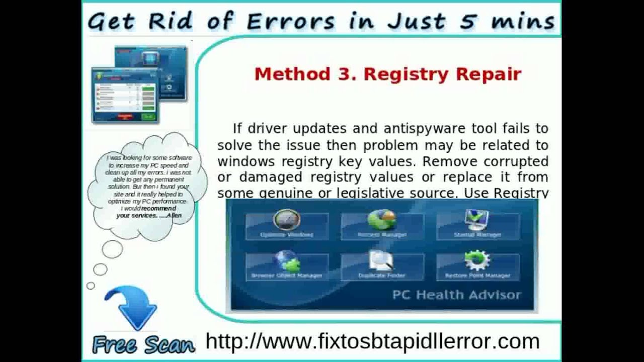 Remove Tosbtapi.dll error Instantly - YouTube