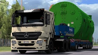 1 30 Euro Truck Simulator 2 Mercedes Actros MP3 Reworked v2 1 Mods