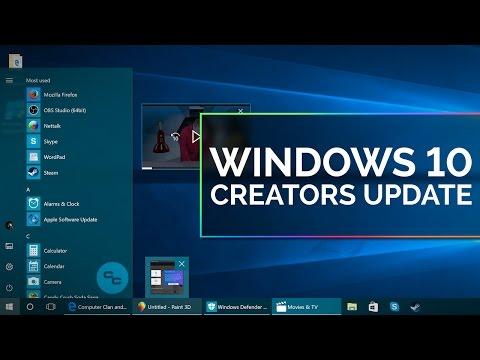 Windows 10 Creators Update Demo