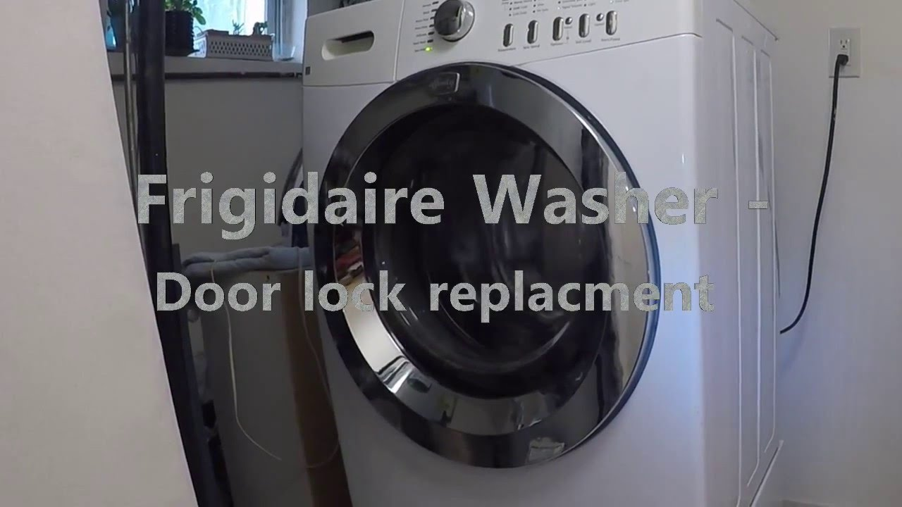 watch reverse door washer to dryer direction opening how latch frigidaire a doors on votd the clothes affinity