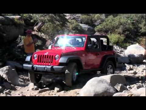 Jeep Wranglers on the Rubicon Trail   September 2011