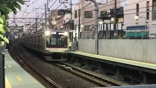 東急東横線5050系白楽駅到着
