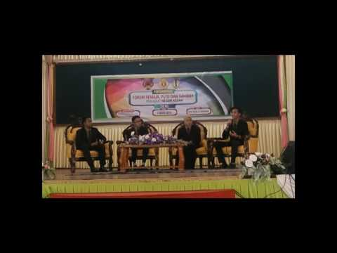 Forum Remaja Peringkat Negeri Kedah 2016 ( NAIB JOHAN & AHLI PANEL TERBAIK )