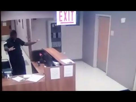 Security Officer Capture Ghost On CCTV Camera While At Work. September 22, 2018