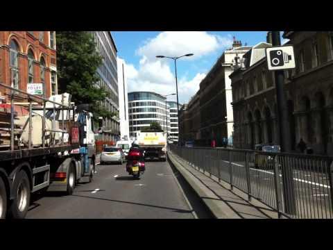 London streets (95.) - Lambeth Road (SE11) - Tower Hill - Trafalgar way (E14)