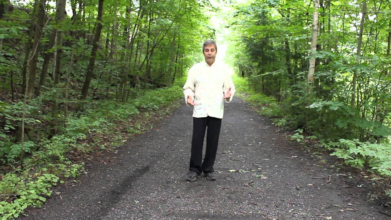 Tai chi walking