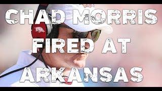 Chad Morris fired at Arkansas
