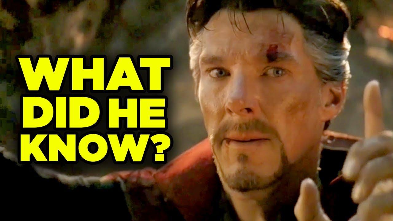 Download Avengers Endgame Doctor Strange Plan Breakdown! Ancient One Scene Explained!