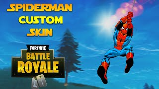 Comment obtenir Spiderman Custom Skin Fortnite