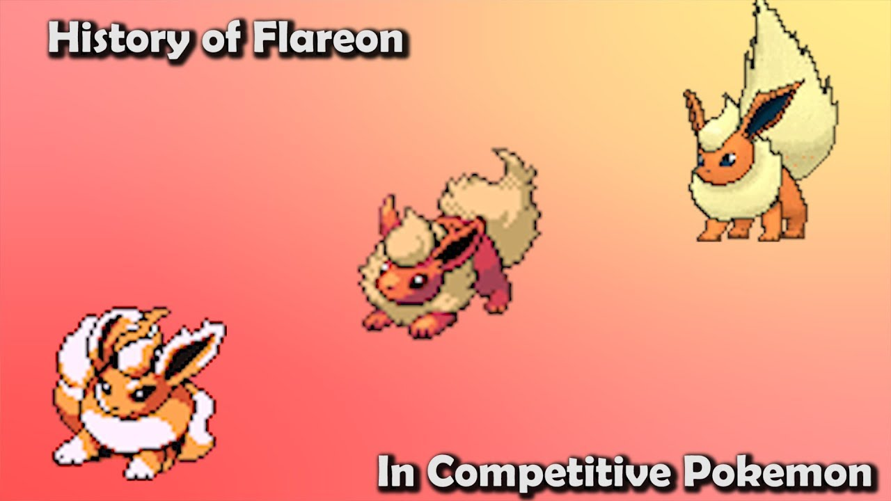 Bettwäsche Pokemon How Good Was Flareon Actually History Of Flareon In Competitive Pokemon Gens 1 6