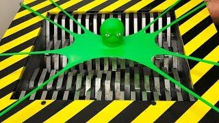 EXPERIMENT Shredding STRETCH OCTOPUS TOY! thumbnail