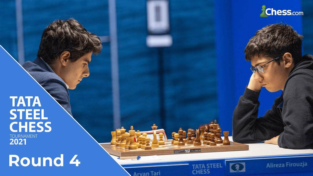 Download Tari and Firouzja's Tactical Battle | Tata Steel Chess 2021