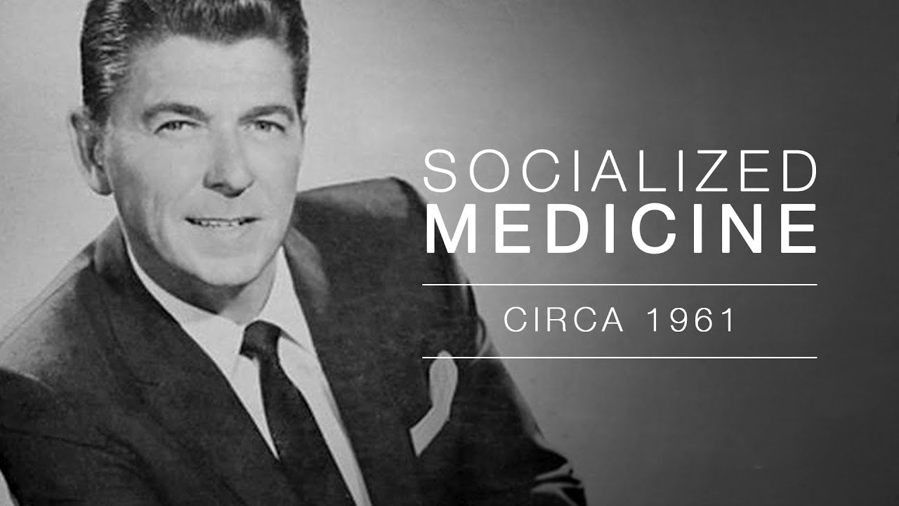 Ronald Reagan speaks out on Socialized Medicine - Audio