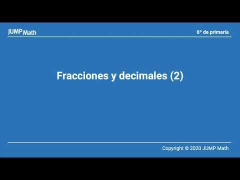 6. Unidad 7. Fracciones y decimales II