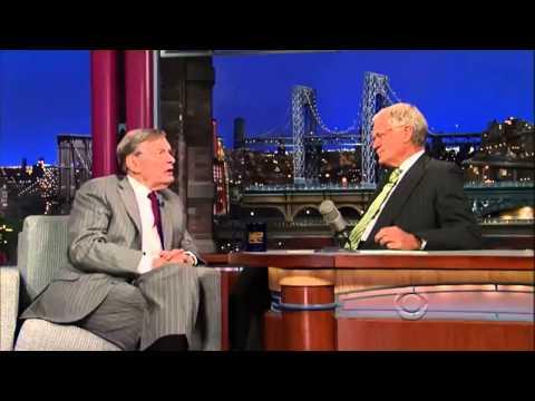 David Letterman Show Bud Selig  15 July, 2013
