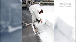 Гідроізоляція Броня АкваБлок при ремонті покрівлі 2 житлових будинків у м Хімки