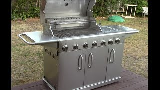 Costco (Hudson Grills) 7 Burner Stainless Steel Grill