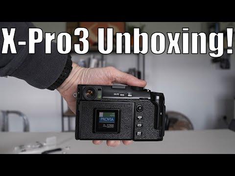 Fujifilm X-Pro3 Unboxing
