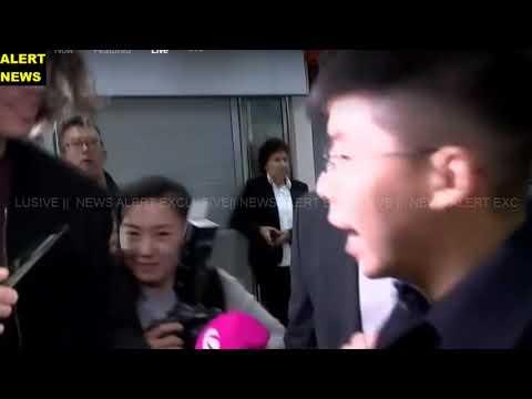 || LIVE || Hong Kong pro-democracy activist Joshua Wong arrives in Berlin