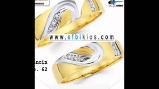 jual Cincin nikah, cincin kawin, cincin tunangan, cincin murah perak lapis emas EFBIKIOS STYLES 2