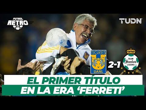 ¡Comenzaba la leyenda! El primer título del 'Tuca' Ferreti con Tigres   TUDN