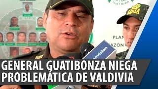 El General Guatibonza niega problemática denunciada en Valdivia