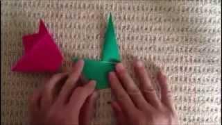 Цветы из бумаги: тюльпан из бумаги своими руками.(