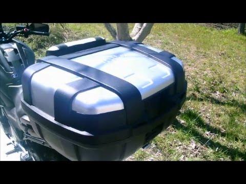 Motovlog # 4 Bauletto Gi.Vi. Trekker 52 Lt. su Honda NC 750 X (2016), Giovedì 30-03-2017