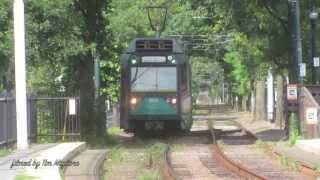 The Light Rail of Boston (green line)