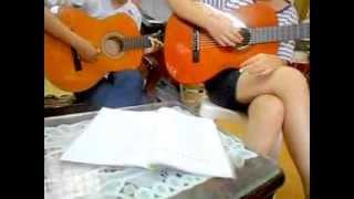 [học guitar đệm hát] Bài 2 [cover] : My heart will go on - Celine Dion