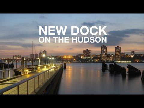 BRAND NEW DOCK on the Hudson River | New York City