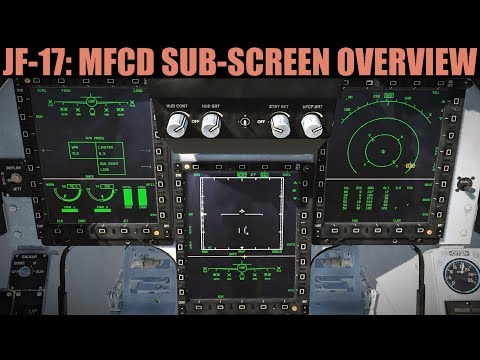 JF-17 Thunder: MFCD Sub-Screens Overview Tutorial | DCS WORLD thumbnail