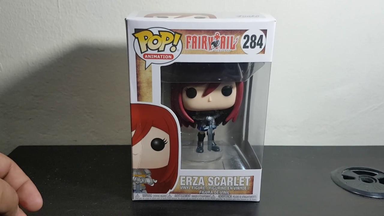 Erza Scarlet 284 - Fairy Tail Figurine Funko POP
