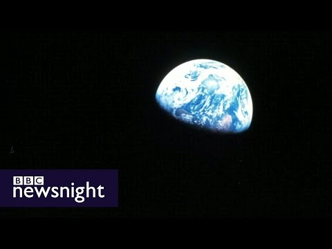 The image that changed the way we see the world  - BBC Newsnight