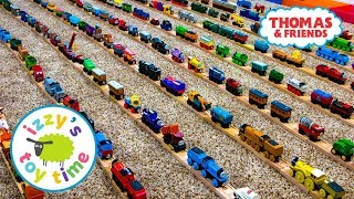 Thomas and Friends | HUGE THOMAS TRAIN COLLECTION with KidKraft Brio Imaginarium | Toy Trains 4 Kids