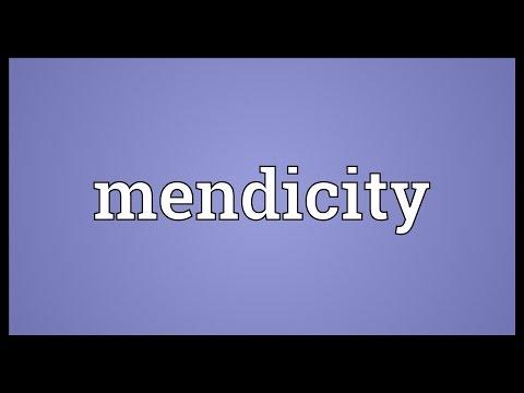 Header of mendicity