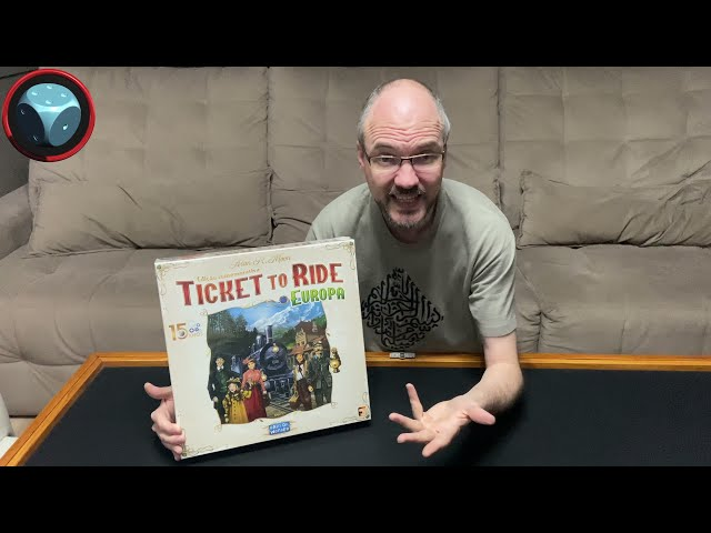 Ticket to Ride Europa 15th Anniversary - Unboxing