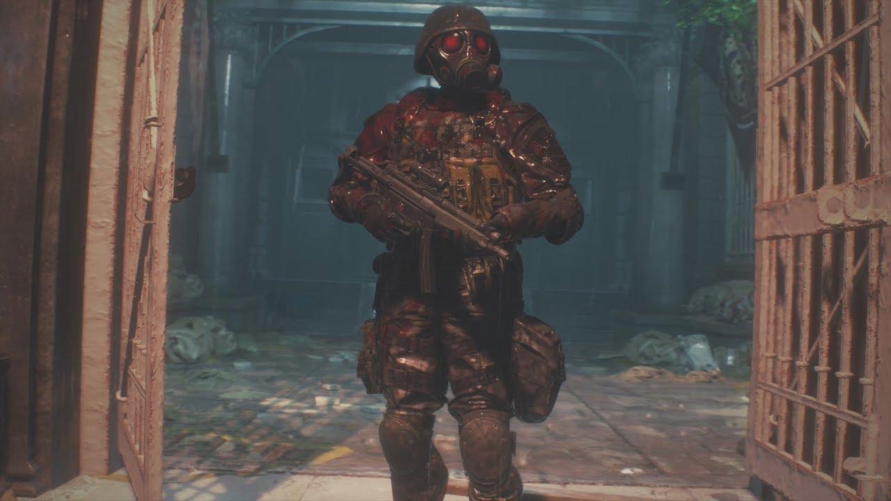 Resident Evil 2 Remake The 4th Survivor Walkthrough Grim Reaper