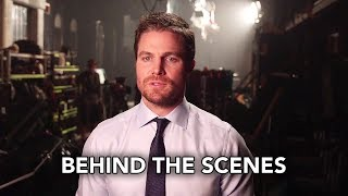 DCTV Crisis on Earth-X Crossover Behind the Scenes - The Flash, Arrow, Supergirl, DC's Legends (HD)