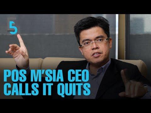 EVENING 5: Pos Malaysia CEO resigns