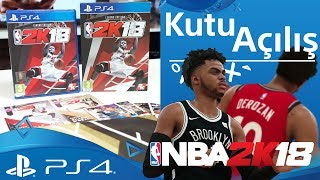 NBA2K18 Legend Edition - Kutu Açılımı ft. Alper Biçen