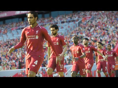 Liverpool vs Crystal Palace - EPL 19 January 2019 Gameplay
