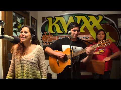"Kimie & Imua Garza ""Make Me Say"" LIVE in the KWXX Studios"