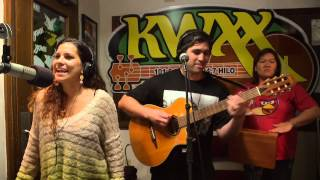 "Kimie & Imua Garza ""Make Me Say"" LIVE in the KWXX Studios"